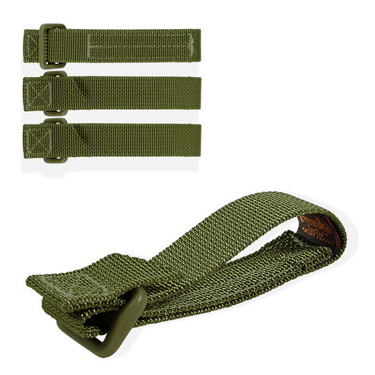 "Maxpedition TacTie Strap 3"" (Pack of 4) - OD Green"