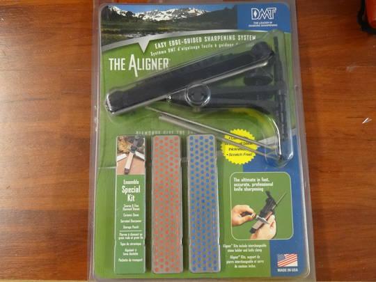 DMT The Aligner Special Diamond/Ceramic sharpening Kit