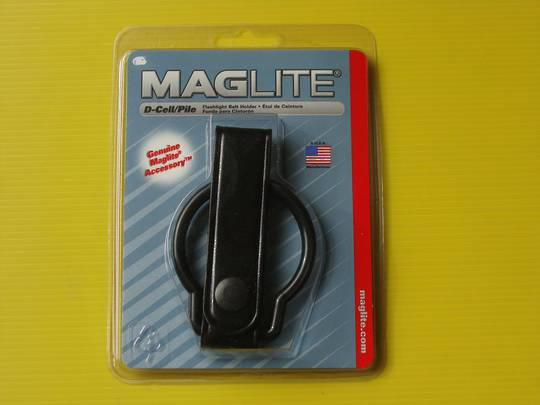 Maglite Leather Belt Holder for D Cell Torch
