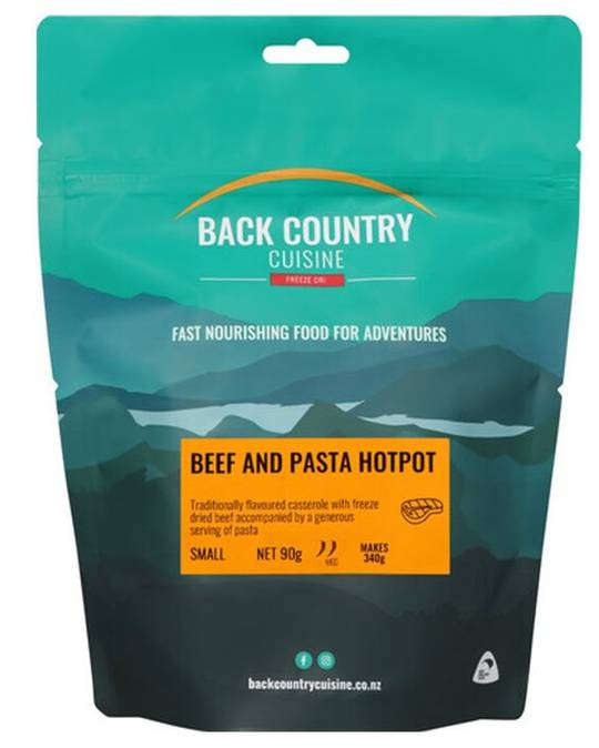 Back Country Cuisine Beef and Pasta Hotpot SMALL