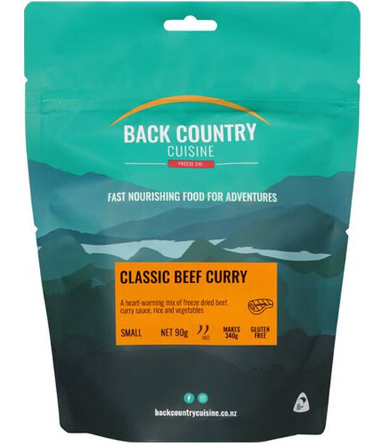 Back Country Cuisine Beef Curry SMALL