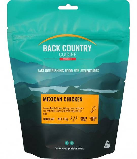 Back Country Cuisine Mexican Chicken REGULAR