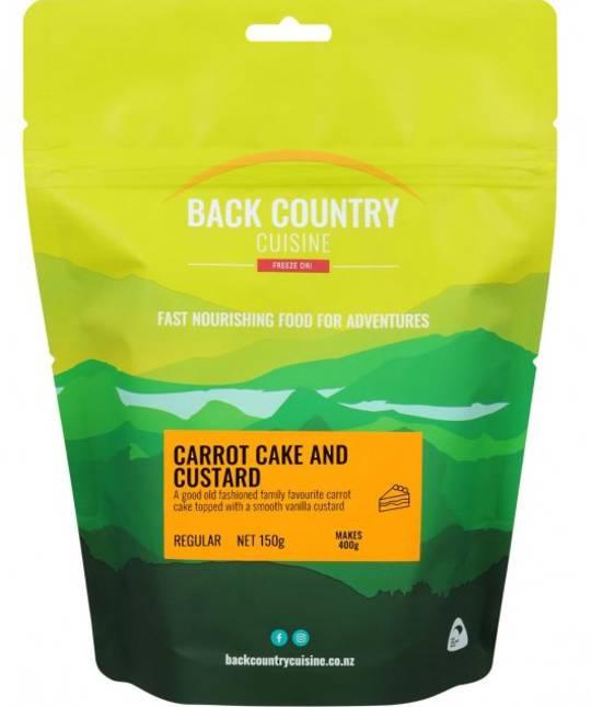 Back Country Cuisine Carrot Cake and Custard REGULAR