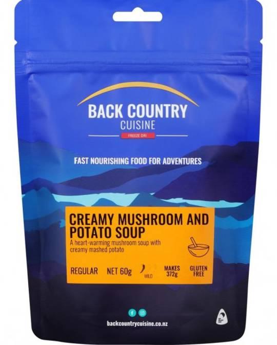 Back Country Cuisine Creamy Mushroom and Potato Soup REGULAR