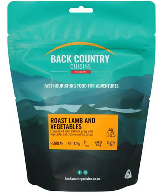 Back Country Cuisine Roast Lamb and Vegetables REGULAR