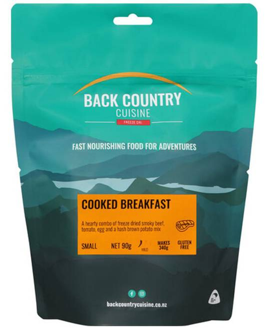 Back Country Cuisine Cooked Breakfast SMALL