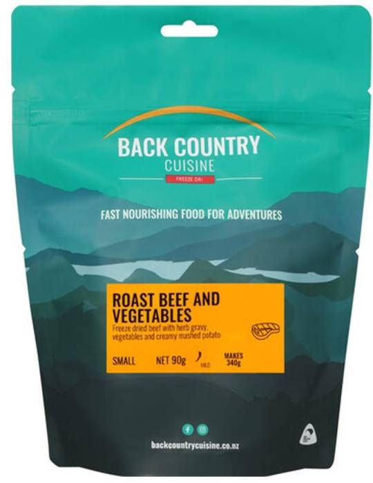 Back Country Cuisine Roast Beef and Vegetables SMALL