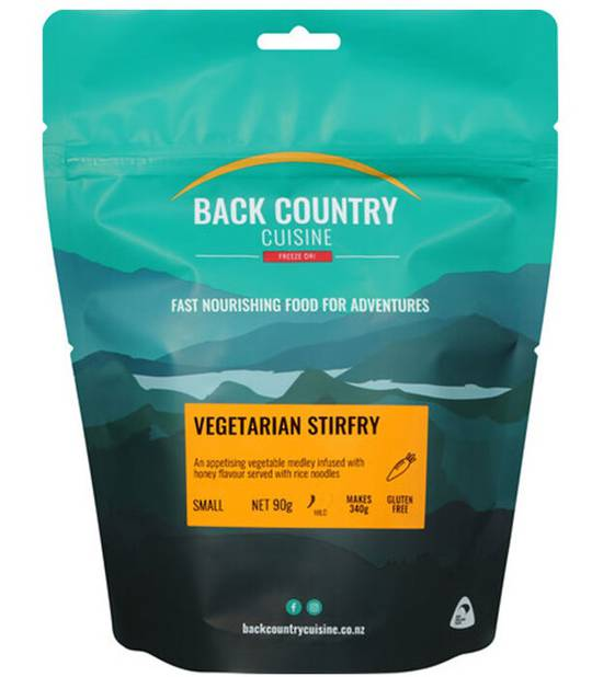 Back Country Cuisine Vegetarian Stirfry SMALL