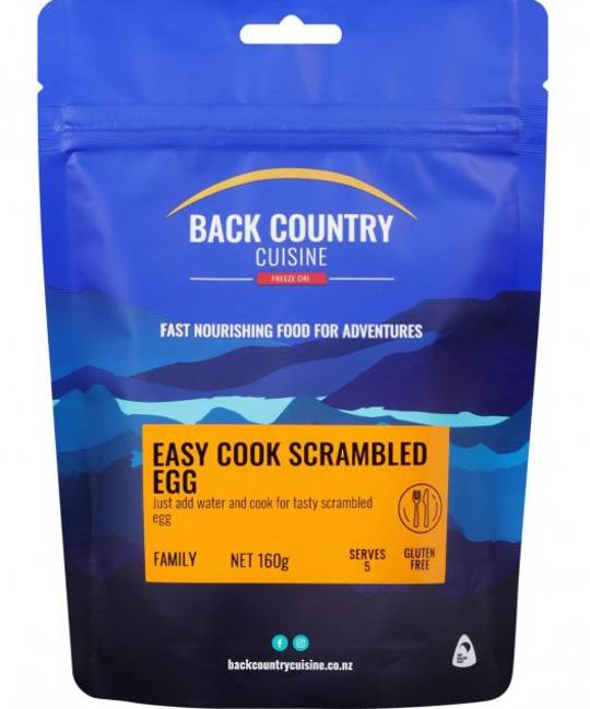 Back Country Cuisine Easy-cook Scrambled Egg FAMILY