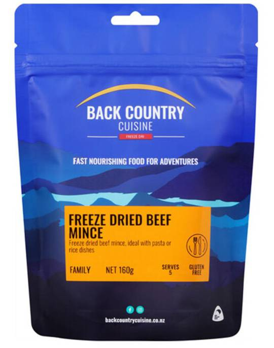 Back Country Cuisine Beef Mince FAMILY