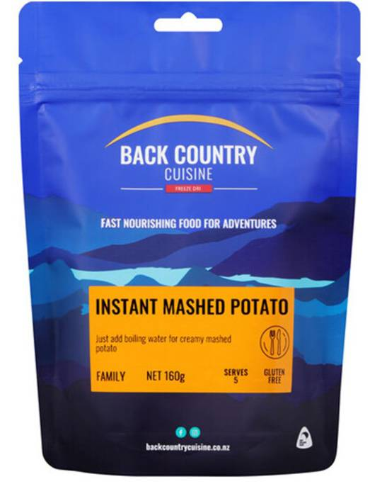 Back Country Cuisine Instant Mashed Potato FAMILY