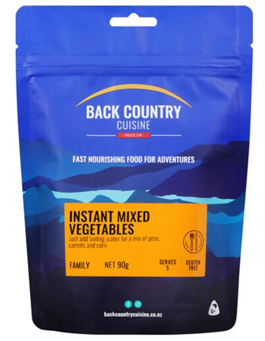Back Country Cuisine Instant Mixed Vegetables FAMILY