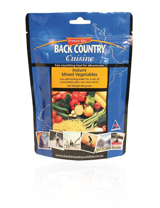Back Country Cuisine Instant Mixed Vegetables 5 SERVE
