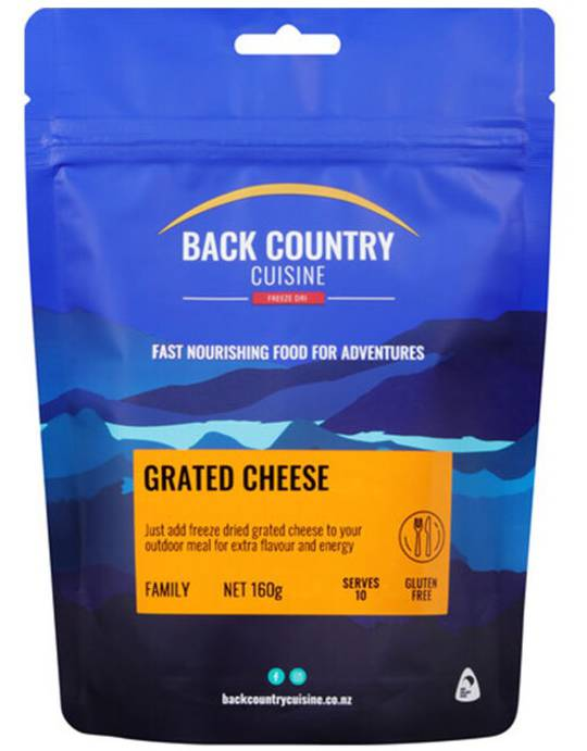 Back Country Cuisine Grated Cheese FAMILY