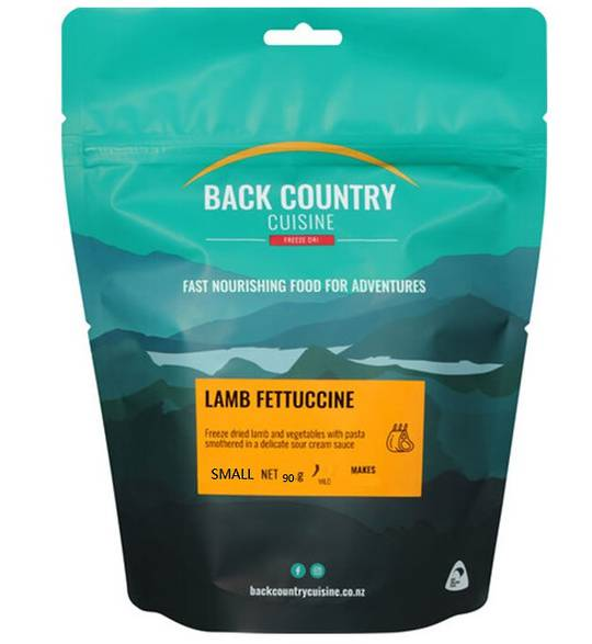 Back Country Cuisine Lamb Fettuccine SMALL