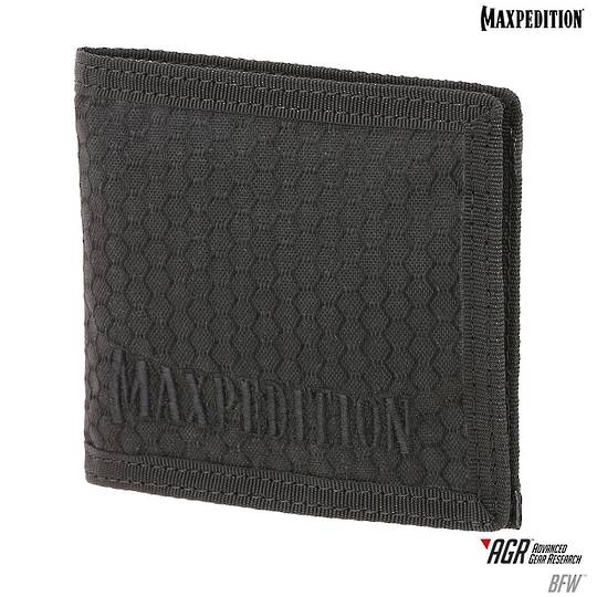 Maxpedition ARG BFW Bi-Fold Wallet - Black