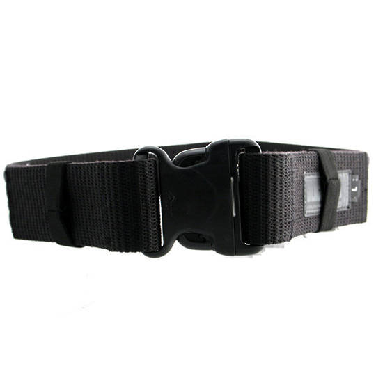 BlackHawk Enhanced Military Web Belt, Black, Large, Up to 43 inch