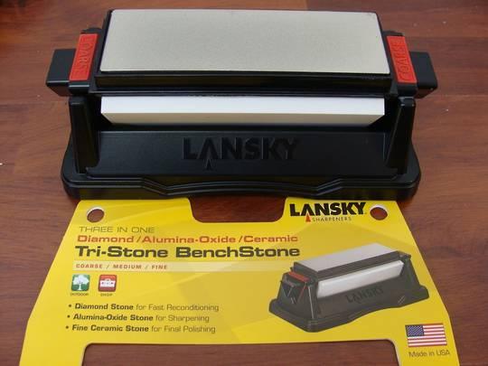 Lansky Tri-Stone Benchstone