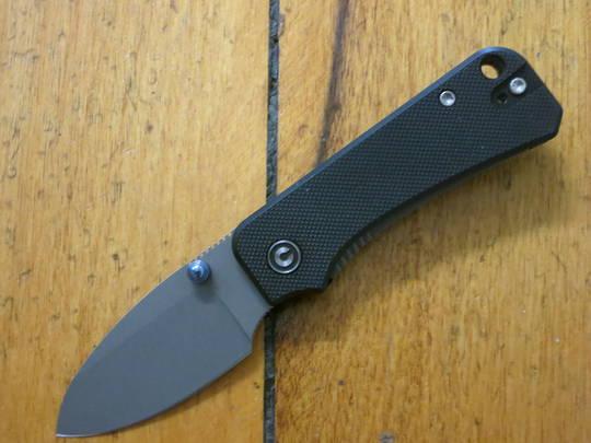 CIVIVI Knives Baby Banter Folding Knife,  Nitro-V Stonewashed Blade, G10 Handles