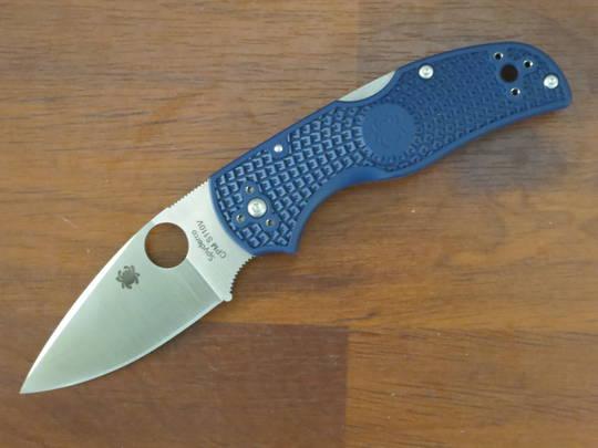 Spyderco Native 5 Folding Knife  S110V Satin Plain Blade FRN Handles
