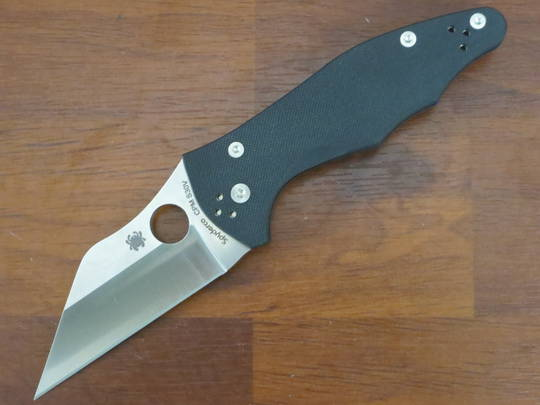 Spyderco Yojimbo 2 Folding Knife S30V G10 Handles