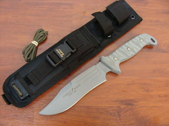 TOPS Knives Combat Bowie II Fixed Blade Knife