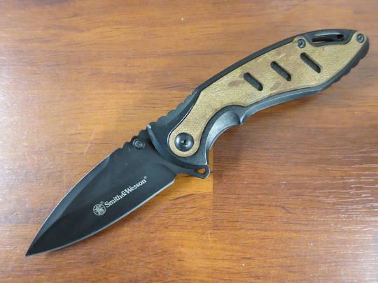 Smith & Wesson CK117BR Liner Lock Folding Knife