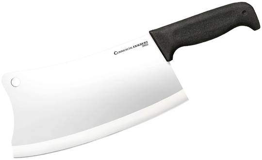 "Cold Steel Commercial Series Cleaver 9"" Kray-Ex Handle"
