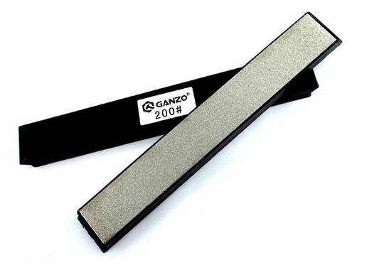 GANZO DIAMOND SHARPENING STONE 200 GRIT