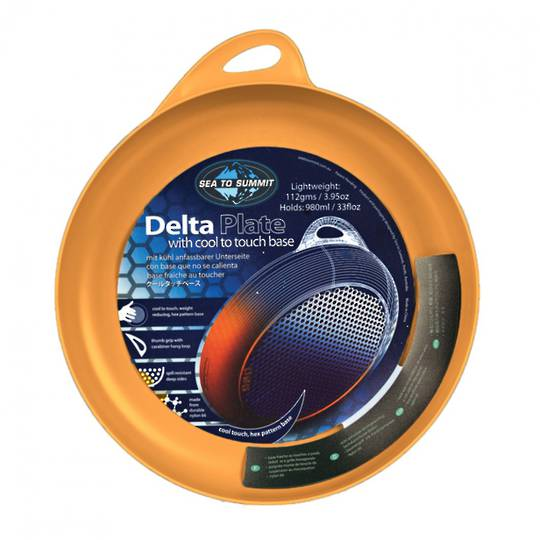 Sea to Summit Delta Plate Orange