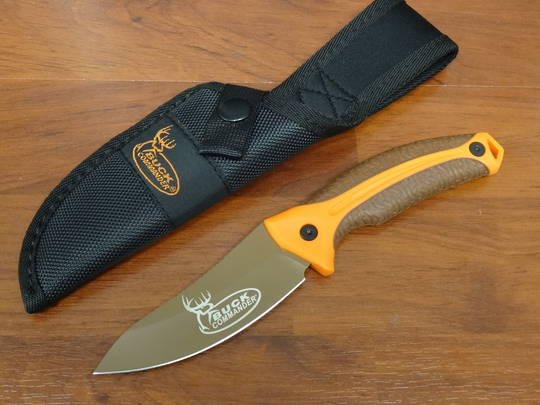 Kershaw Lonerock Small Fixed Blade Orange