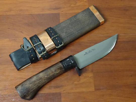 Kanetsune KB249 Sazanami Bokashi Knife