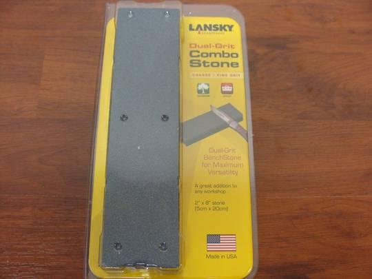 Lansky Combo Stone Fine/Coarse Dual Grit Combo Bench Stone