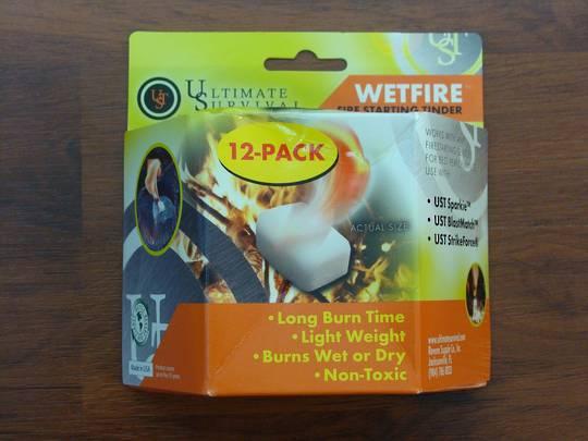 Ultimate Survival WetFire 12 Pack