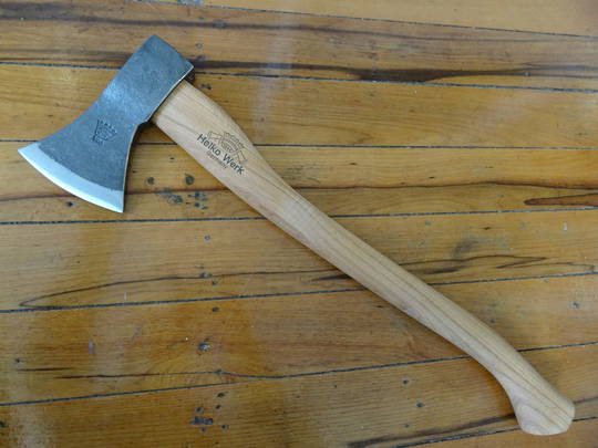 HELKO Traditional Line Black Forest Woodworker Axe 1000g 13562