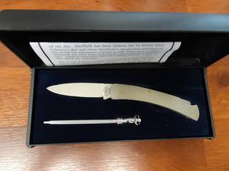 Sheffield G. Ibberson Stainless Lock Knife Set - P12010P46