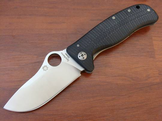 Spyderco Lion Steel Lionspy Folding G-10 Titanium Folding Knife- Elmax
