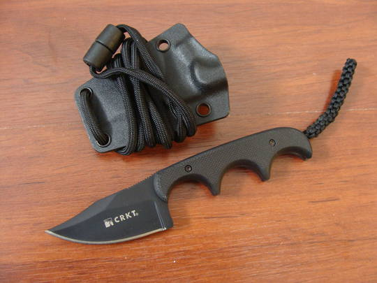 CRKT Folts Minimalist Bowie Knife - Black