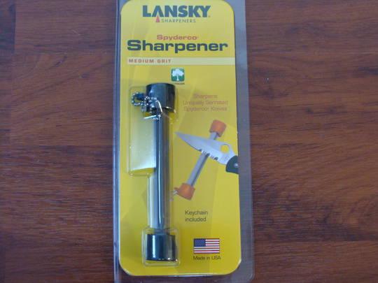 Lansky Crock stick Spyderco Sharpener
