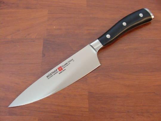 "Wusthof Classic Ikon Chef Knife 16cm / 6"" - 4596/16"