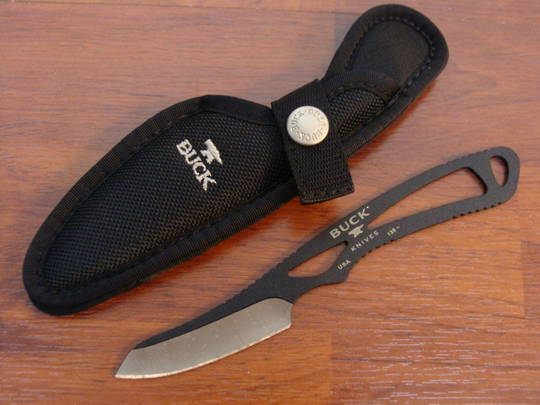 Buck Paklite Caper Knife Black - 135BKS