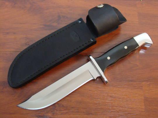 Buck Frontiersman Micarta Knife - 124BKSLE