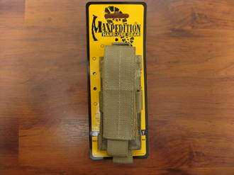 Maxpedition SINGLE SHEATH ~ Khaki