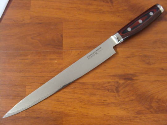 Super GOU Japanese Damascus  Slicing Knife 255mm Display Model