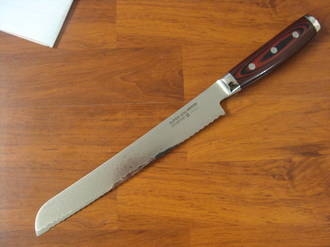 Super GOU Japanese Damascus Bread Knife 230mm