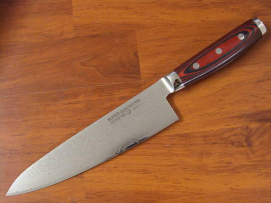 Super GOU Japanese Damascus Chef's Knife 200mm