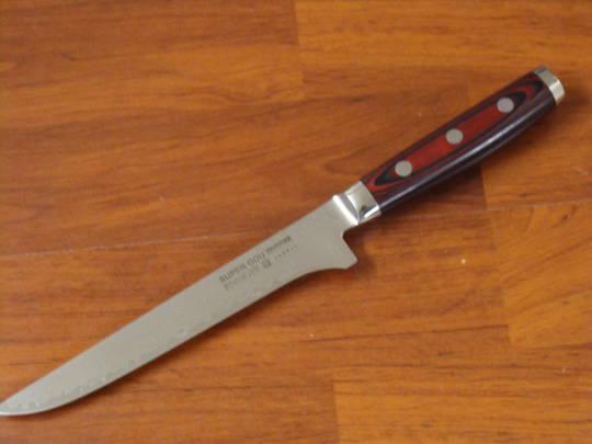 Super GOU Japanese Damascus Boning Knife 150mm Display Model