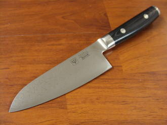 RAN Japanese DAMASCUS SMALL SANTOKU KNIFE 125mm
