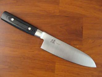 Yukari Japanese San Mai Santoku Knife 165mm