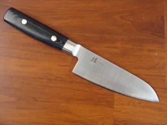 Yukari Japanese San Mai  Small Santoku Knife 125mm